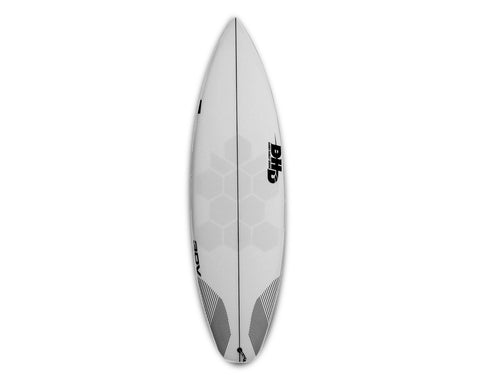 HexaTraction Basic edition kit installed in a surfboard