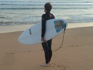 Kream surfboard with HexaTraction by RSPro