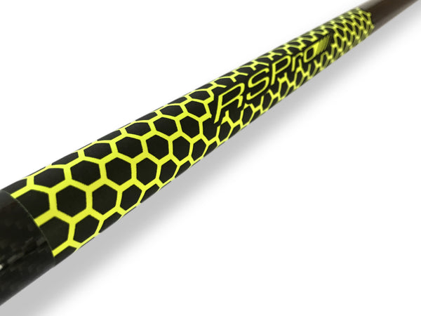 Paddle Grip RSPro with HexaTraction technology in Yellow. Full view