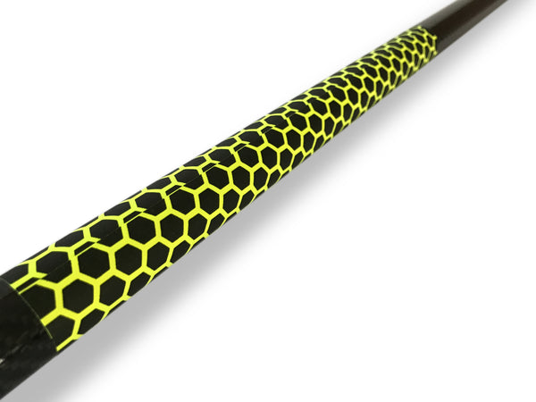 Paddle Grip RSPro with HexaTraction technology in Yellow. Overlapping side