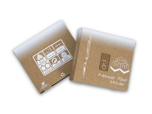 RSPro Hexa Tail Wide compact cardboard packaging