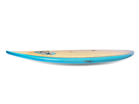 Transparent rail saver for short SUP boards