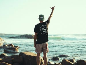 Larry Foiler with the black Guardians of the Ocean tee