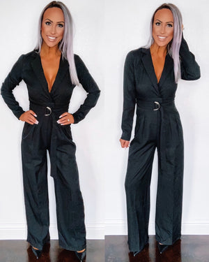 Go Getter Jumpsuit - Black