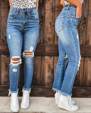 Willow Frayed Skinnies