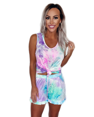 Let's Cuddle Tie Dye Lounge Set