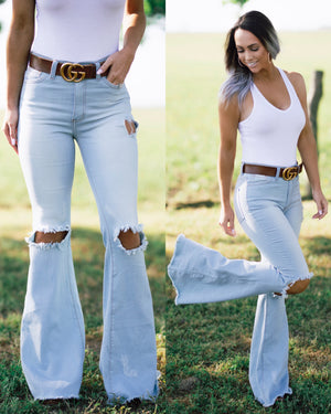 Cheyenne Denim Bell Bottoms