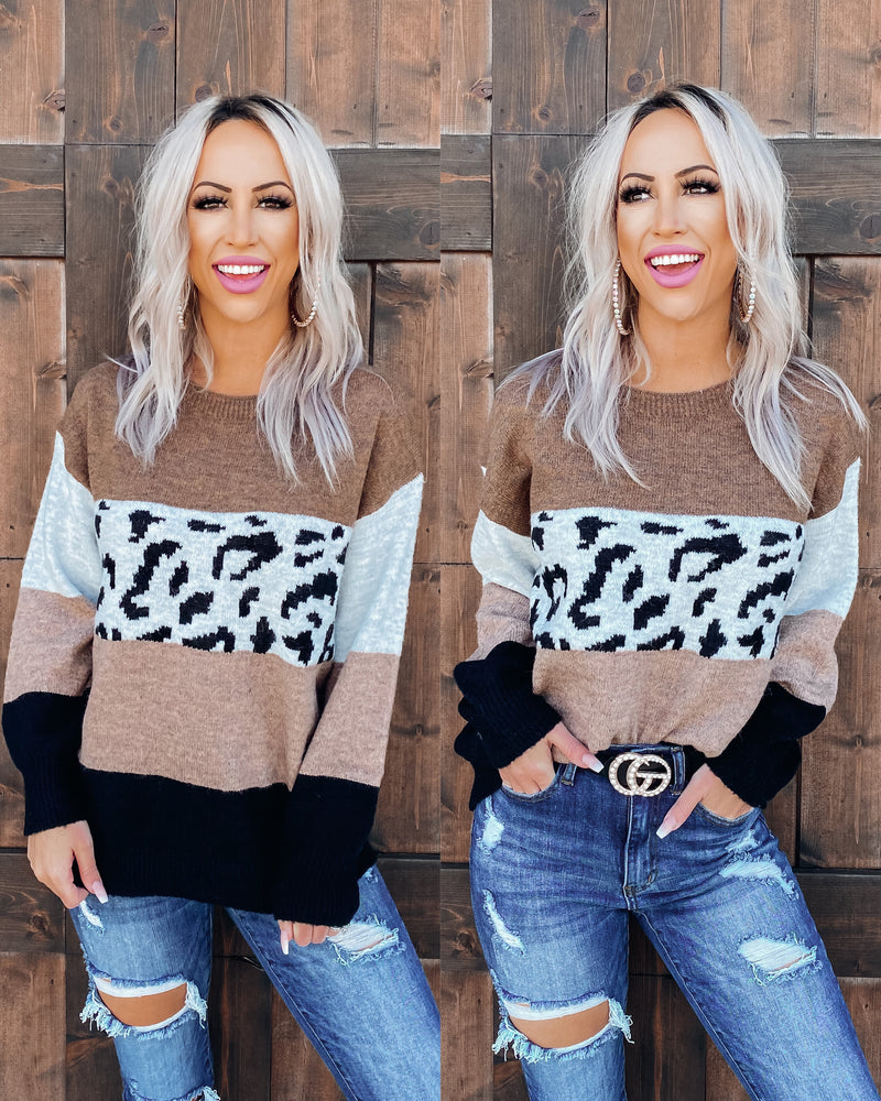 Walk On The Wild Side Sweater