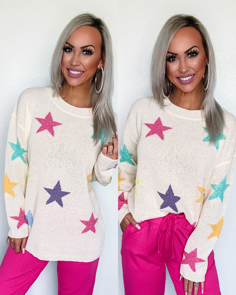 Stargazing Knit Sweater
