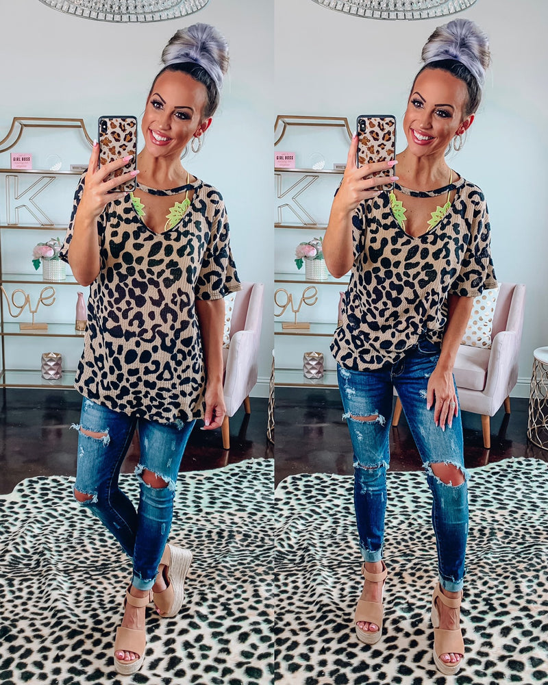 Safari Dreams Choker Top