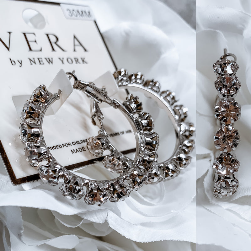 Mini Vera Earrings - Silver