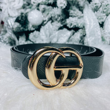 Gia Belt - Black/Gold