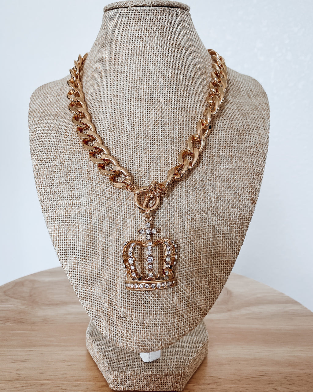 Majesty Crown Necklace