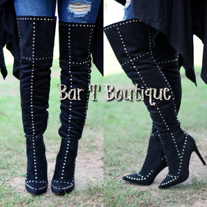 Boujee Knee High Boots