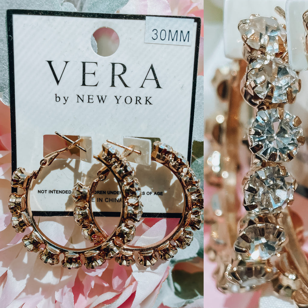 Mini Vera Earrings - Gold