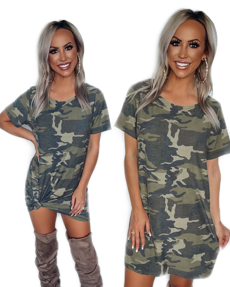 Count Me In Camo Dress