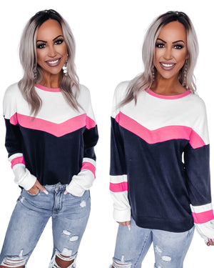 Adore Me Colorblock Sweater