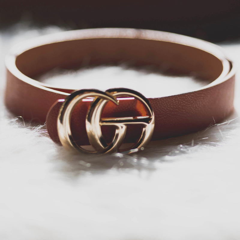 Gia Belt - Brown