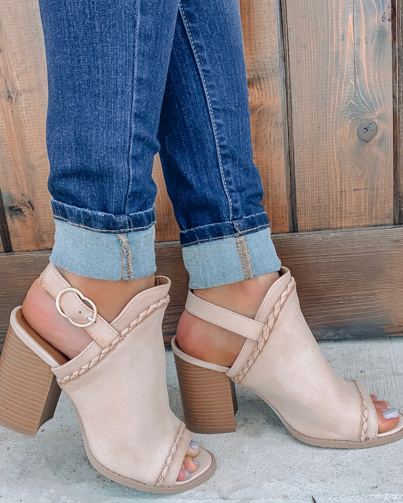 Brammer Booties - Taupe