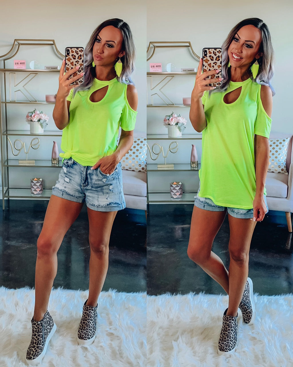 Slay In Lime Top