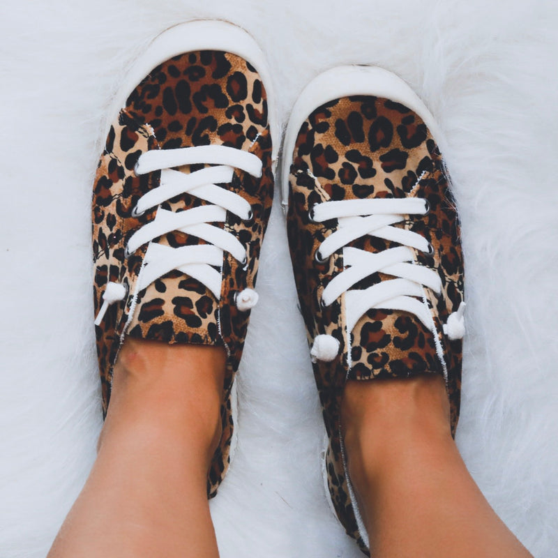 Comfort Sneakers - Cheetah
