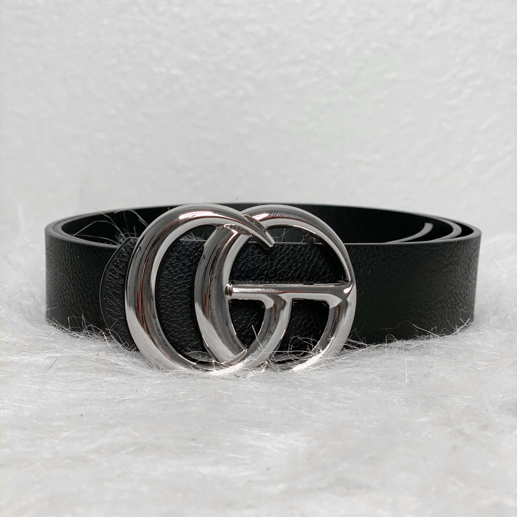 Gia Belt - Black/Silver