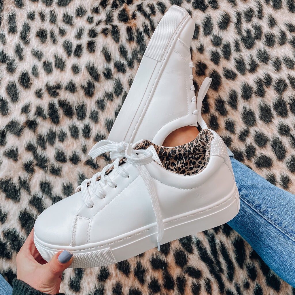 Journey Sneakers - White