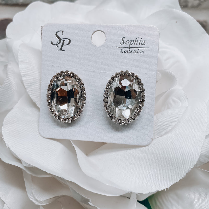 Gracey Crystal Earrings