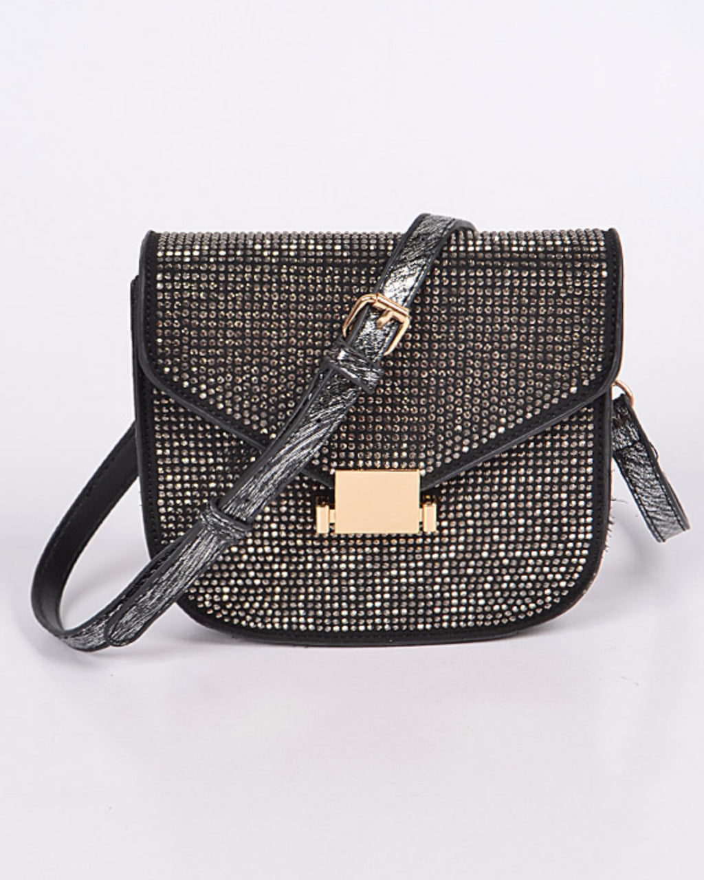Mini Rhinestone Crossbody Purse