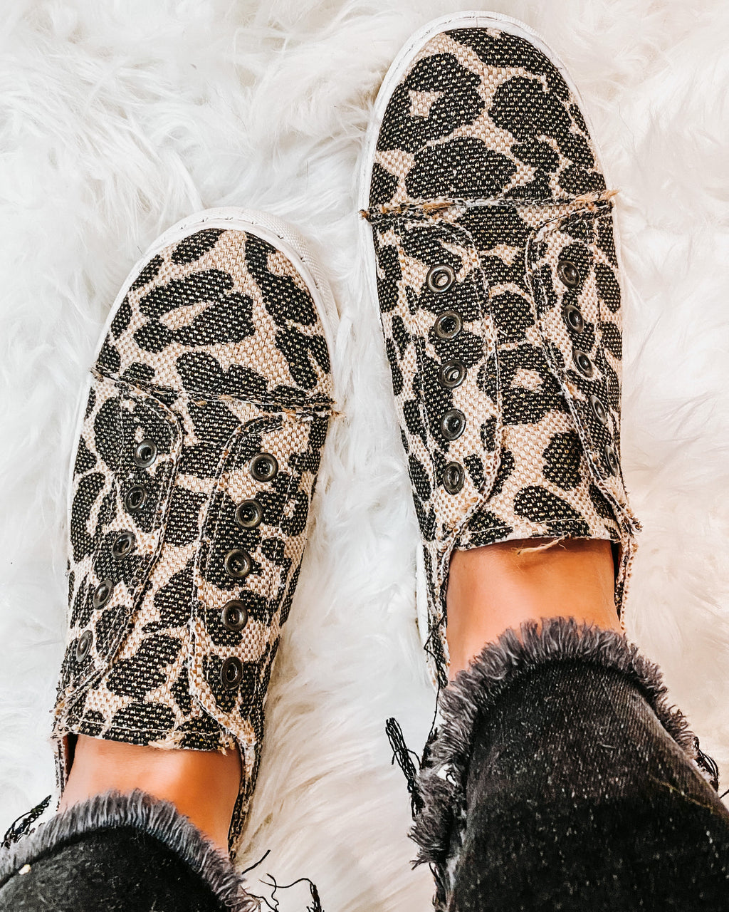 Wild Way Leopard Sneakers