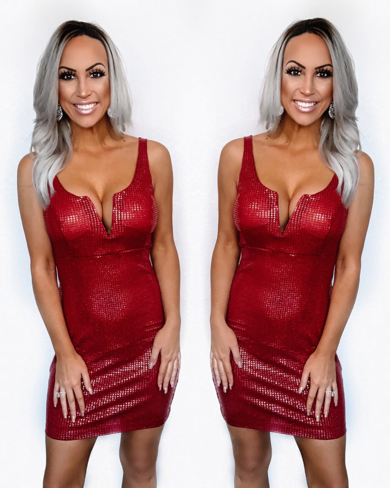 Bombshell Valentine Dress