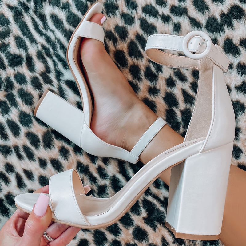 Hollywood Heels - Off White
