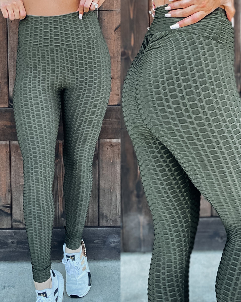 Look At Me Now Leggings - Olive