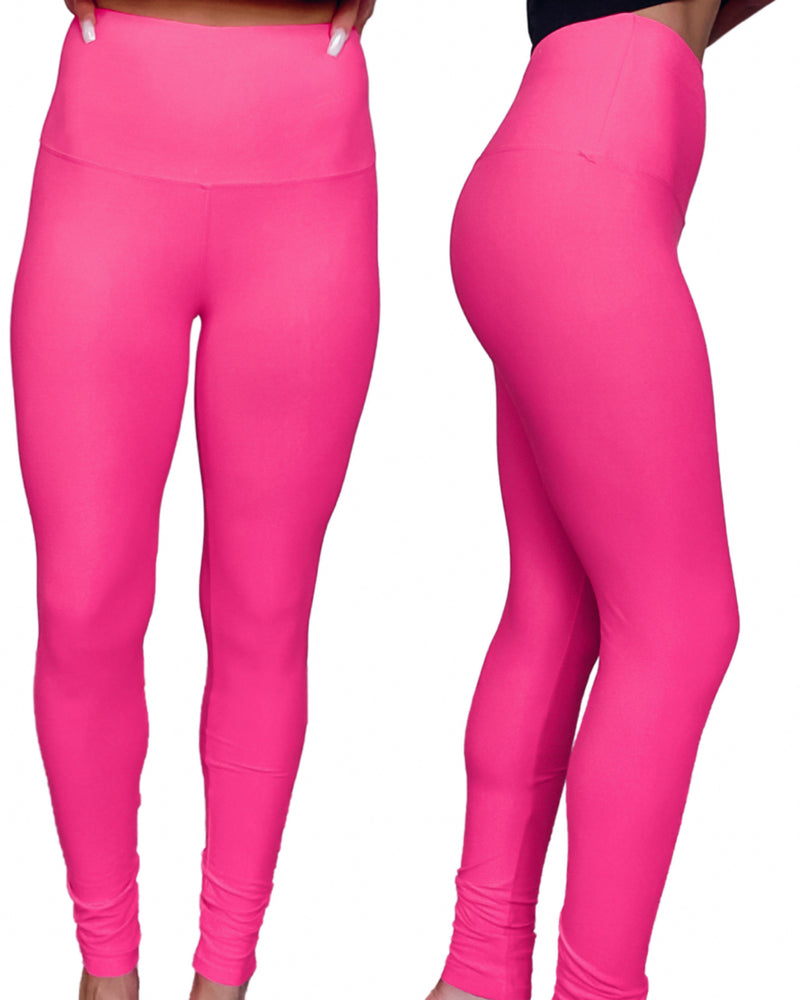 Ultimate High Waist Leggings - Pink