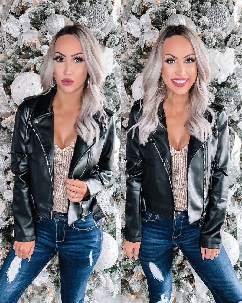Biker Barbie Jacket - Black