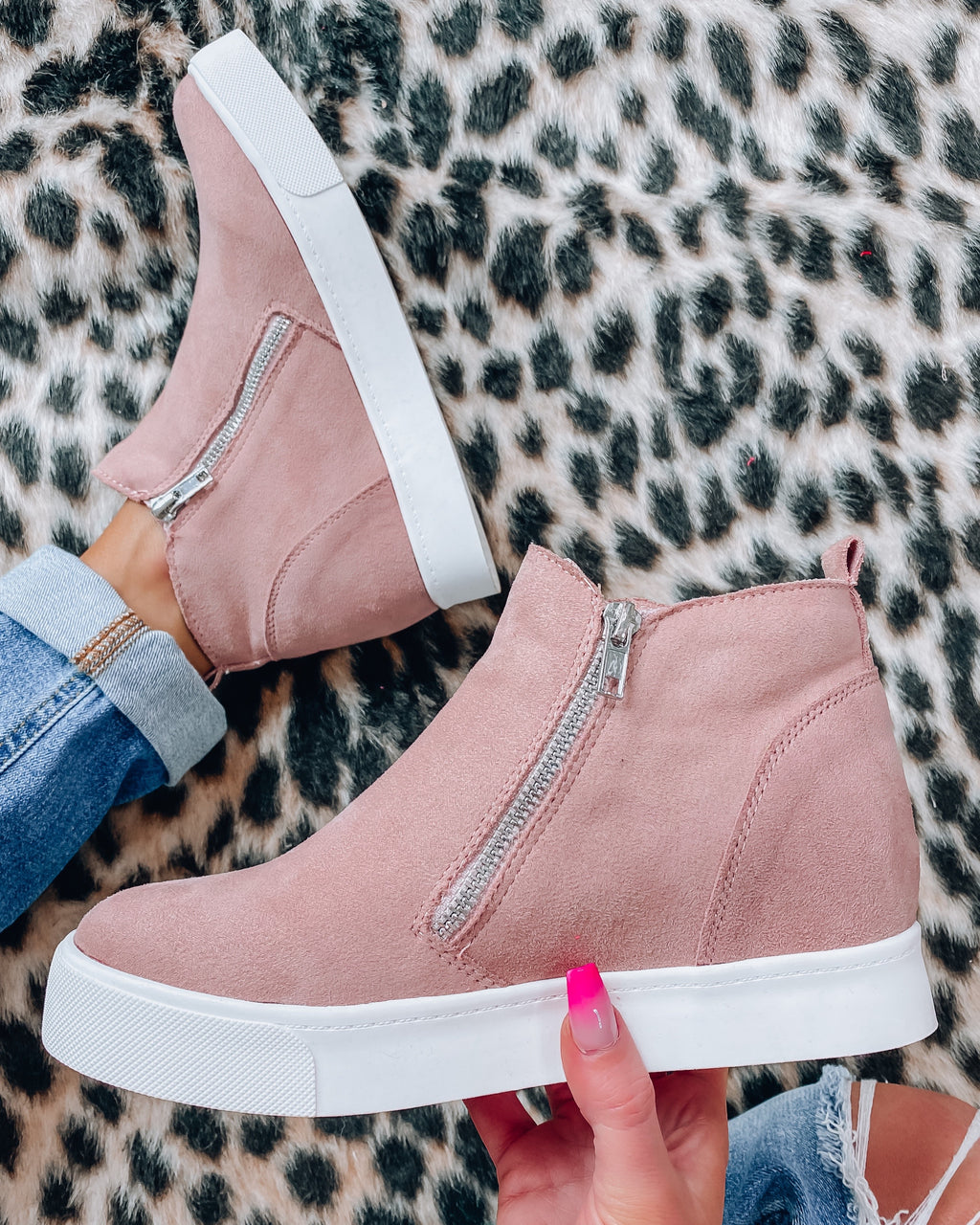 Taylor Sneakers - Mauve