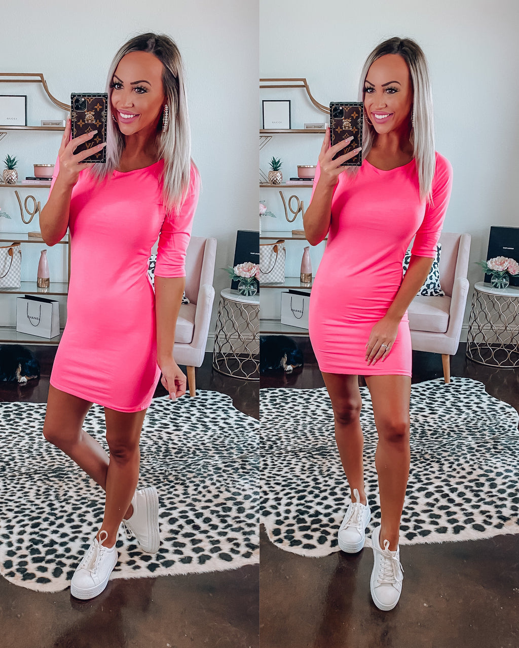 Barbie Girl Bodycon Dress {BombDeal}
