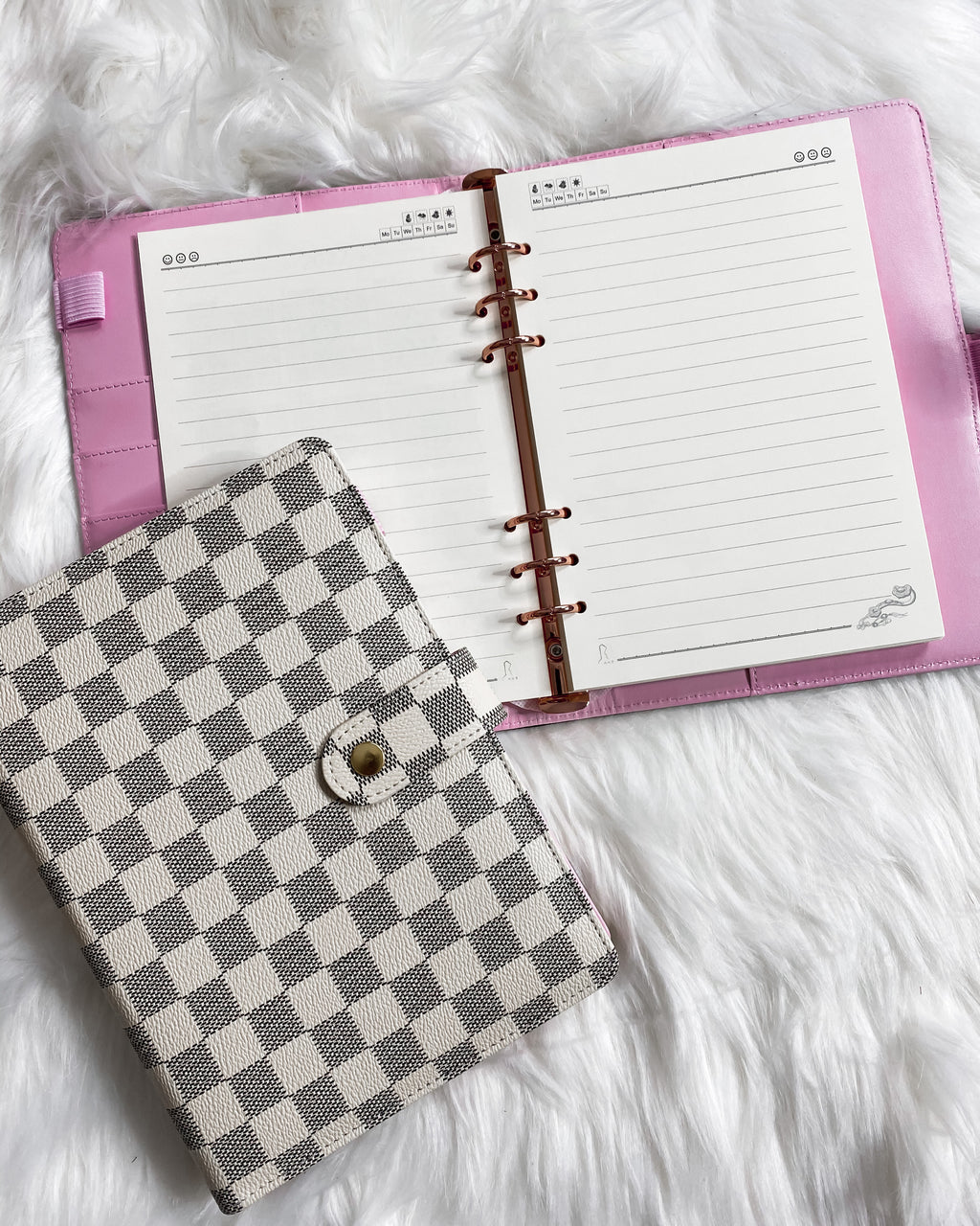 Torryn Luxe Notebook - White
