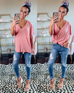 Secret Haven Dusty Pink Top