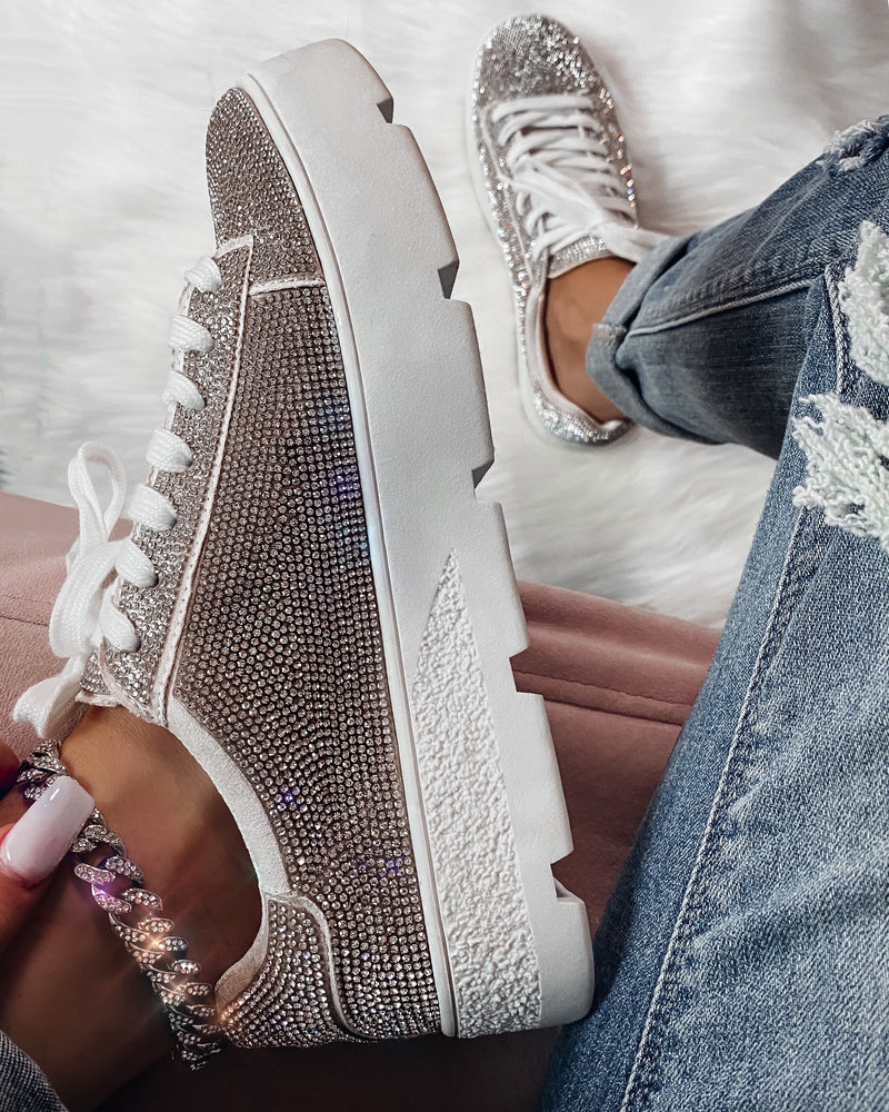 Show Stopper Diamond Sneakers