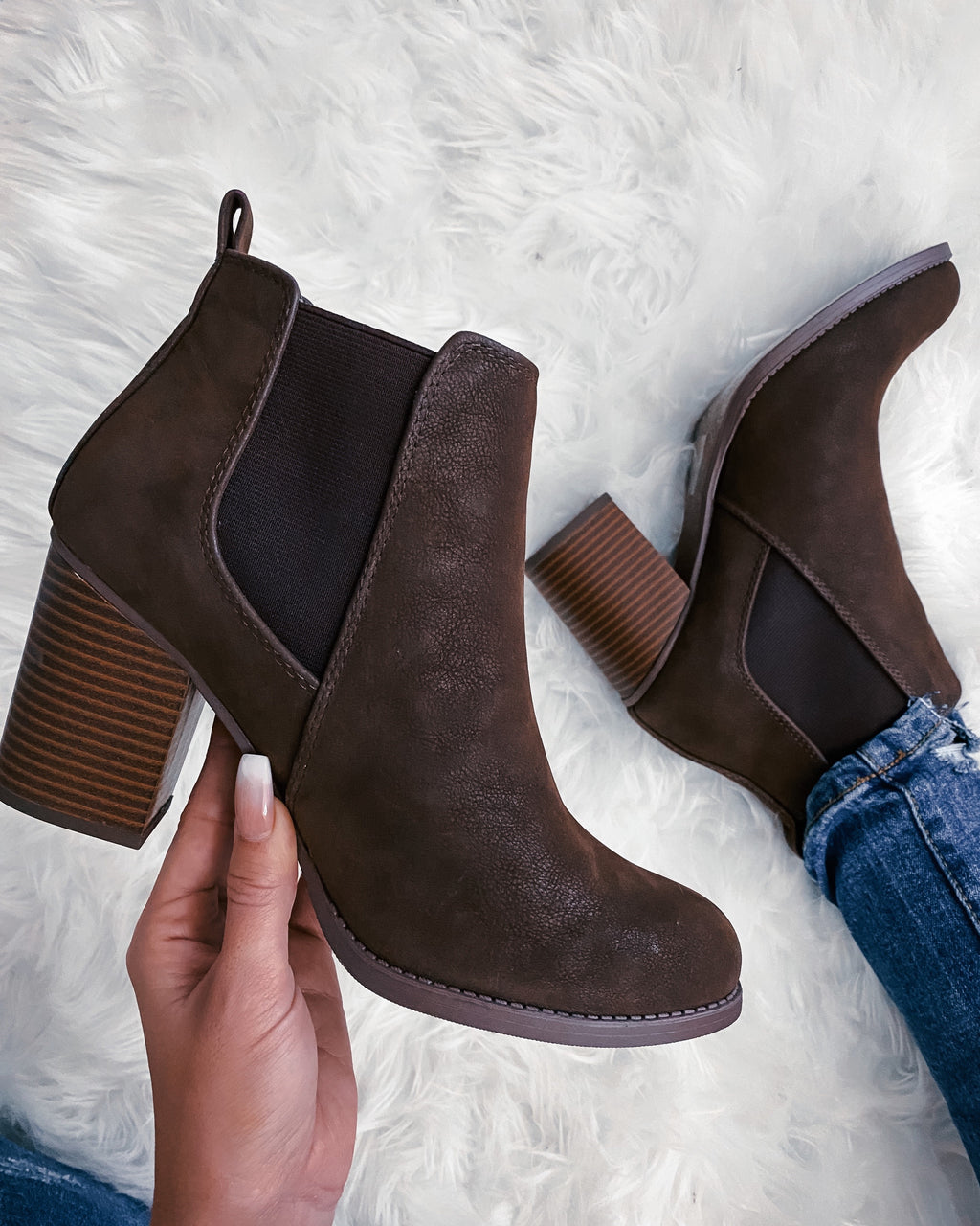Laurie Booties - Brown