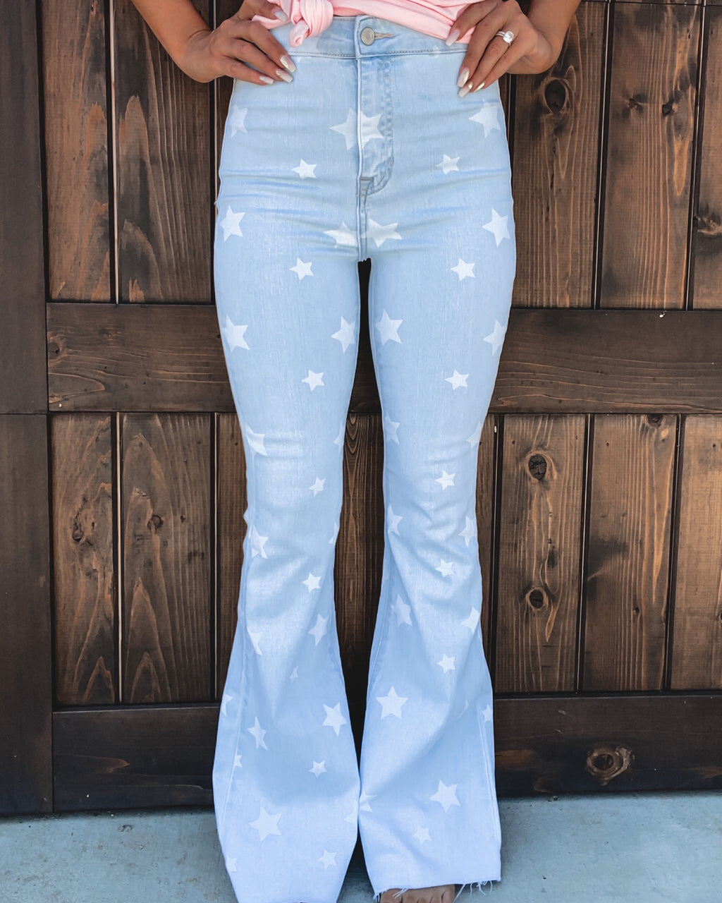 Star Struck Bell Bottom Jeans