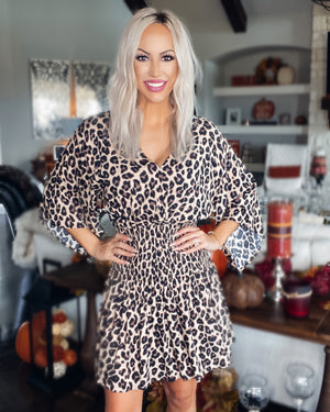 Spotted in Leopard Dress