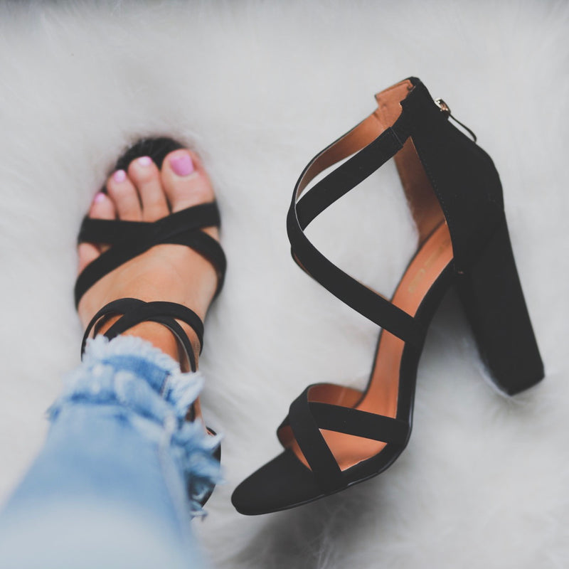 Hello Gorgeous Heels - Black
