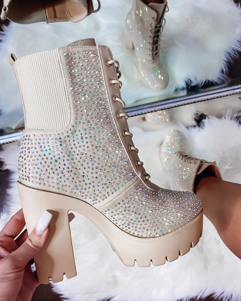 Over The Top Rhinestone Boots