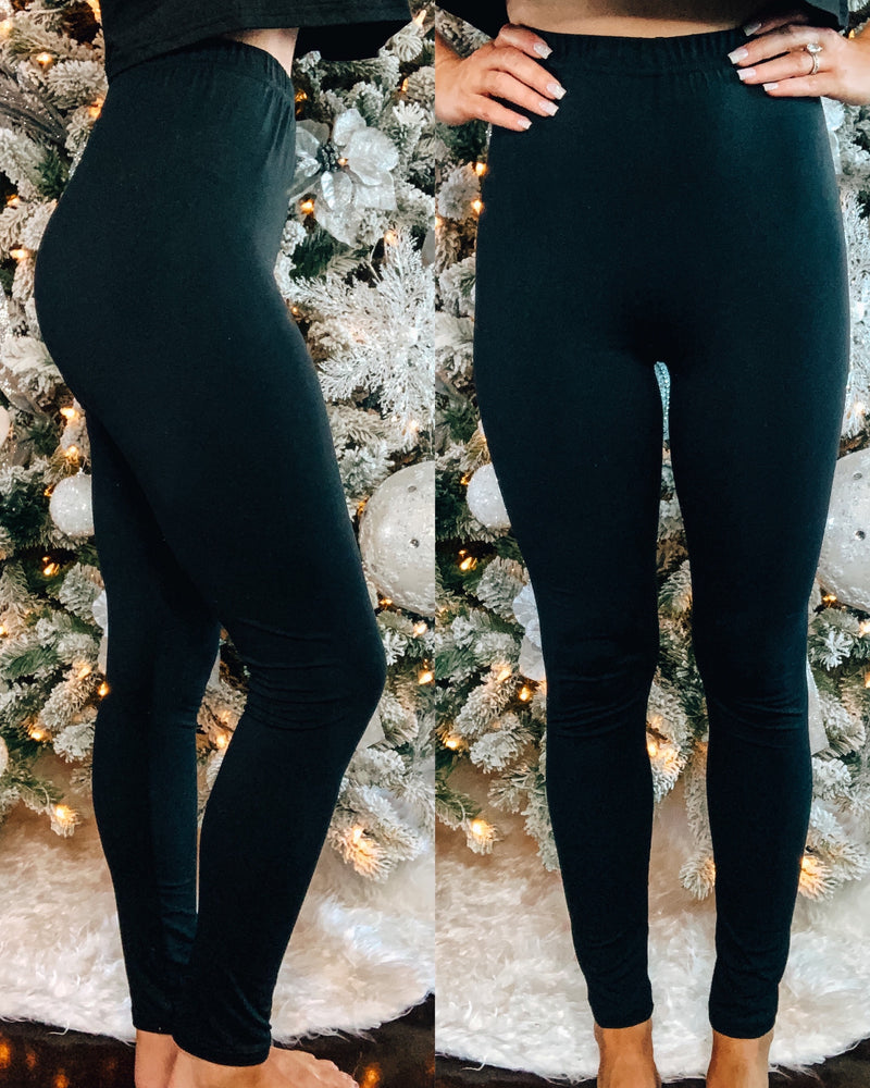 Comfort Leggings - Black