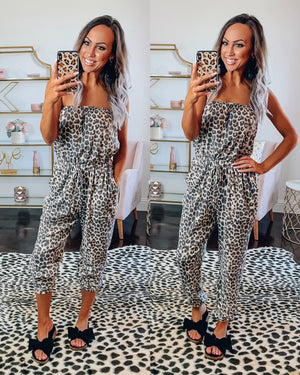Kingston Leopard Jumpsuit