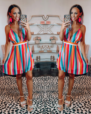 Senorita Stripe Dress