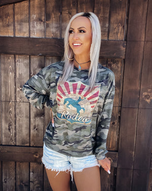 Camo Rodeo Sweatshirt