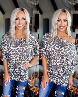 Beautiful Things Leopard Dolman